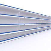 Empty shelves — Stock Photo