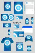 Elements for corporate identity — Stock Vector