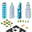 Isometric mapdowntown — Stockvector  #64968161