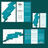 Poster, brochure design background — Cтоковый вектор