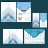 Poster, brochure design background — Stock Vector
