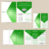 Poster, brochure design background — Wektor stockowy