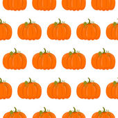 Seamless pattern with pumpkins — Stock Vector