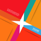 Large colored boxes with blank space for text — Stock vektor