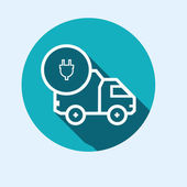 Icon for vehicle delivery — Stock Vector
