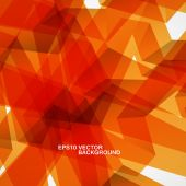 Abstract vector background of chaotic shapes eps — Stock vektor