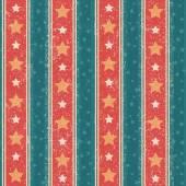 Vintage Stars Pattern — ストックベクタ