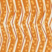 Geometrische retro patroon — Stockvector