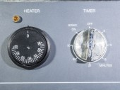 Heater and timer showing scale level  — Stock Photo