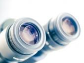 Eyes piece of microscope  — Stock Photo