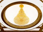 Vintage cystal lamp  — Stock Photo