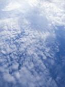 Cloud on blue sky background — Stock Photo