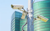 Cctv for surveilance and security  — Stock Photo