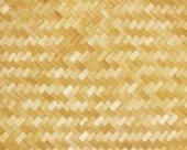 Weaved bamboo craft by handmade — Stock Photo