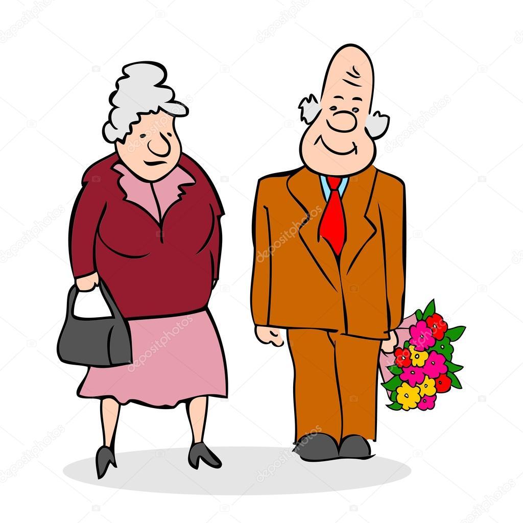 Ältere frauen, die einen guten mann suchen