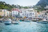 Beautiful cityscape from sea — Stock fotografie