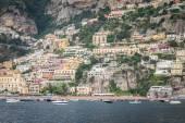 Beautiful town seascape. — Stock Photo