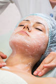 Cosmetic procedures in spa clinic — Stock Photo