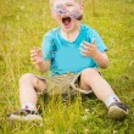 Young boy wearing sunglasses. — Stock Photo #53633905