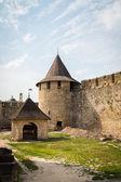 Khotyn castle — Stock Photo
