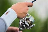 Hombre de pesca — Foto de Stock