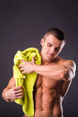 Young man after a workout — Stock Photo