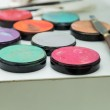 Make up palette with different colors — Stock Photo #64448957