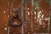 The old door handle — Stock Photo