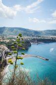 Beautiful town seascape — Stock Photo