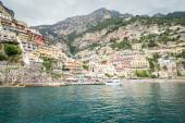 View of the town of Positano — Stock Photo