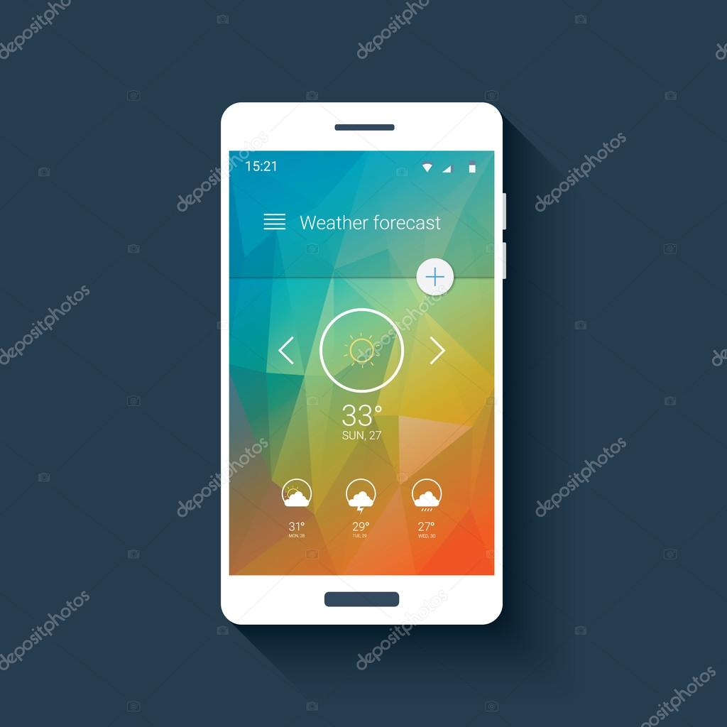 скачать приложение прогноз погоды на смартфон