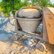 Mixing the cement — Stockfoto #68914463