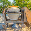 Mixing the cement — Stockfoto #68914495