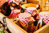Preserves in jars — Foto Stock