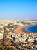 Panorama of Agadir, Morocco — Stock Photo