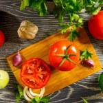 Fresh tomato — Stock Photo #52863211