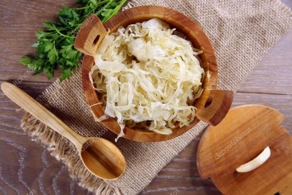 Квашеная капуста при холестерине можно
