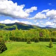 Bieszczady Mountains in HDR technique, Poland — Stock Photo #54577123