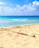 Playa del carmen plaży, meksyk — Zdjęcie stockowe