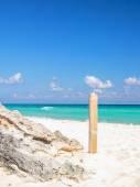 Playa playa del carmen, méxico — Foto de Stock