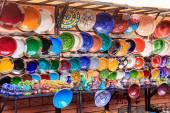Traditional ceramic pottery in Morocco — Stockfoto