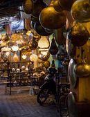 Traditionele marokkaanse lampen — Stockfoto