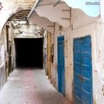 Narrow street in Essaouira, Morocco — Stock Photo #59149023