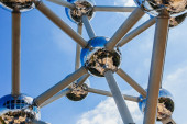 Atomium structure  in Brussels — Stock Photo