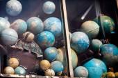 Vintage world globes — Stock Photo