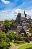 Saint Peter church in Leiden — Stock Photo