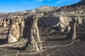 Volcanic rock landscape — Stock Photo