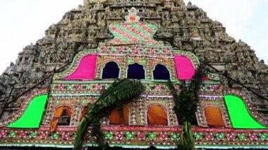 Ekambareswarar Temple in Kanchipuram — Stock Video