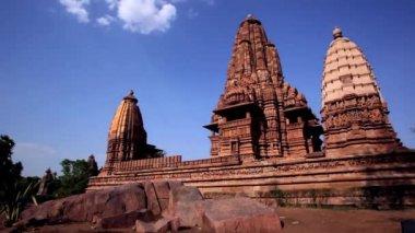 Khajuraho Temple in Khajuraho — Stock Video
