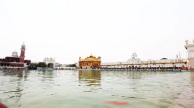 Golden Temple gurdwara — Stock Video